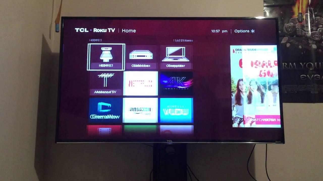 TCL 4K Roku TV Problem!