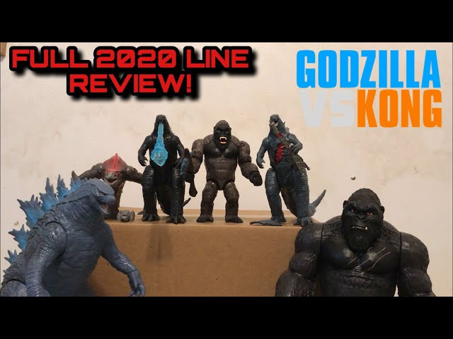 FULL 2020 PLAYMATES LINE REVIEW! - Godzilla vs Kong (2021) Figure Reviews