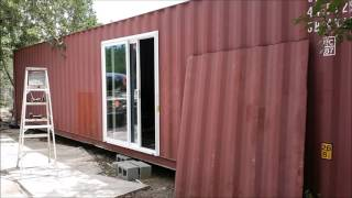 CONTAINER HOME - THE MAKING OF