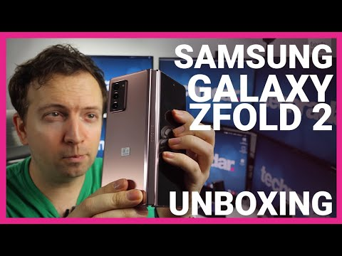 Samsung Galaxy Z Fold2 5G Unboxing and Overview
