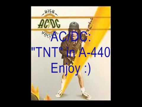 """AC/DC """"TNT"""": Retuned A-440 Version"""