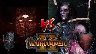 Chaos vs Vampire Counts   THE TRUE LORD OF THE END TIMES?: Total War Warhammer 2