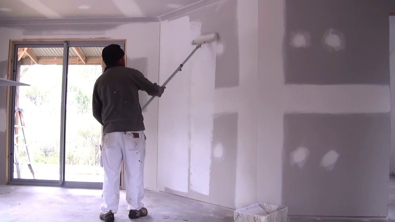How to paint drywall 71