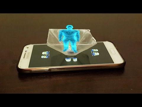 3 Boyutlu Hologram Nasıl Yapılır
