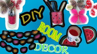 5 DIY Summer Room Decor-Easy And Bright Decorations For Summer