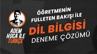 TYT TÜRKÇE DENEME 2