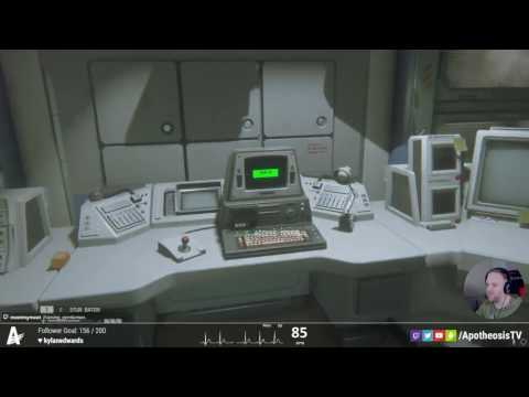 Alien Isolation first playthrough Part 2 Using Heart Rate Monitor