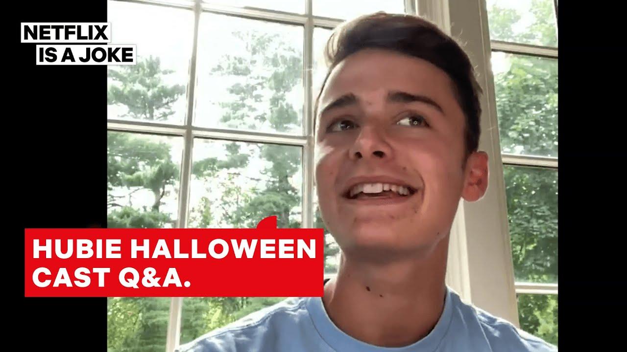 Adam Sandler, Noah Schnapp & Hubie Halloween Cast Answer Your Questions   Netflix Is A Joke