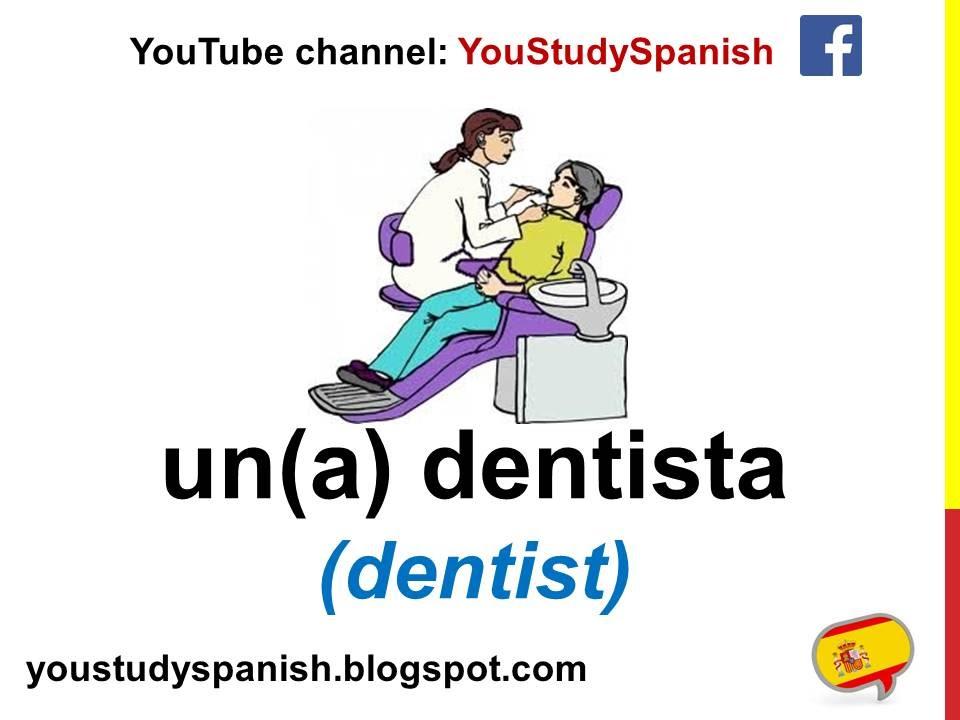 Spanish Lesson 25 - JOBS PROFESSIONS in Spanish for kids Las profesiones en  español para niños