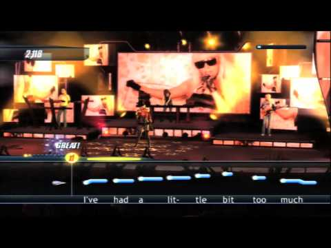 (HD) Karaoke Revolution - Wii E3 Trailer