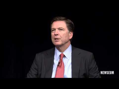 FBI Director James B. Comey on the FBI's relationship with the media