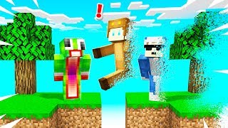 MINECRAFT But EVERYTHING YOU TOUCH = DISAPPEARS!