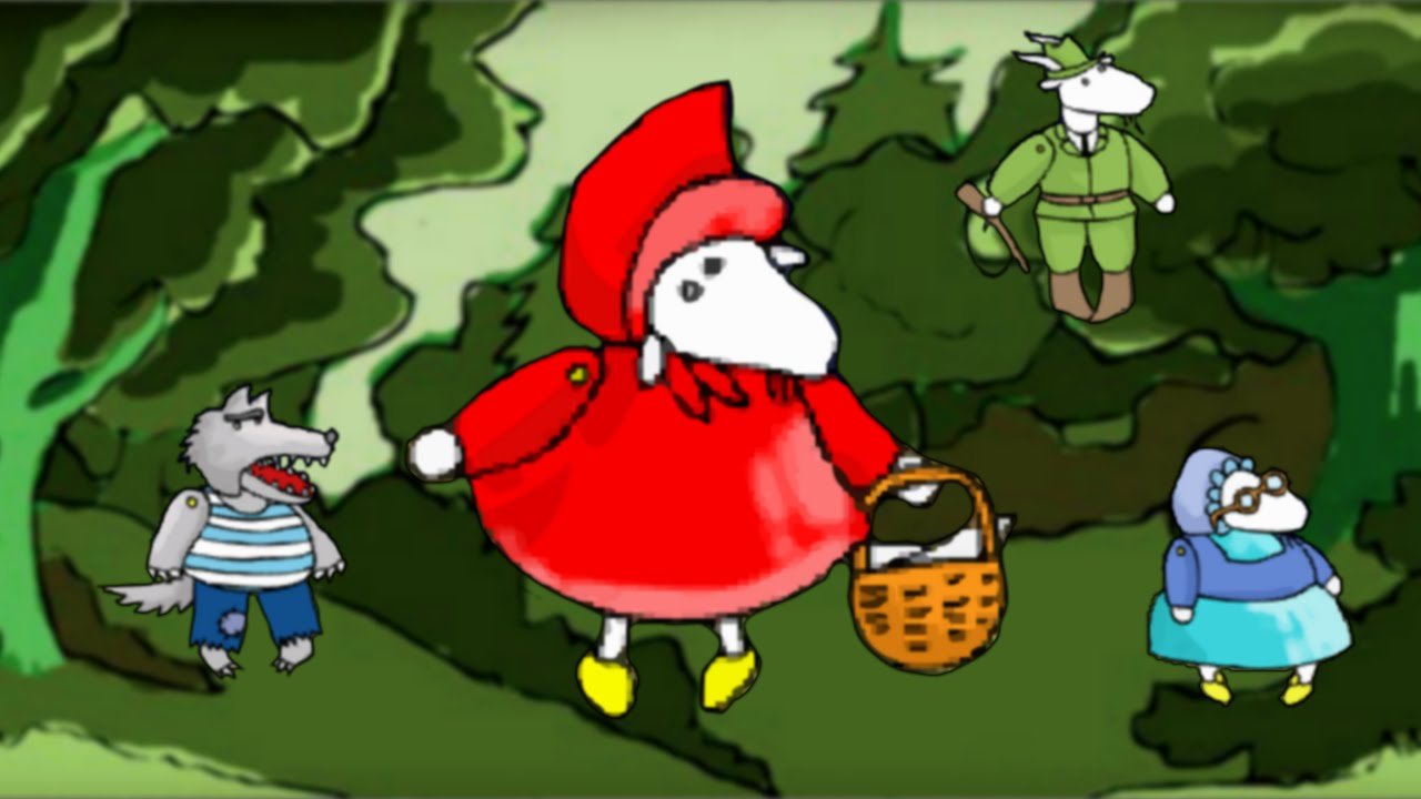 Scufita Rosie - Spectacol de teatru de papusi pentru copii