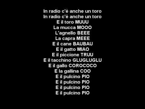 Radio globo pulcino pio hd lyrics testo youtube