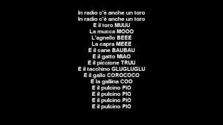Radio Globo   Pulcino Pio   HD   Lyrics Testo