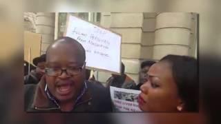 Nigerians In London Protest Against Fulani Herdsmen Killings