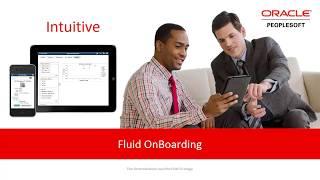 PeopleSoft Fluid OnBoarding