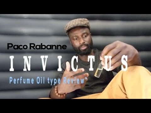 Paco Rabanne Invictus  Perfume Oil Type Review ;Sam;scenthack