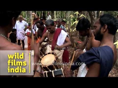 Local beats of Kerala: Chenda