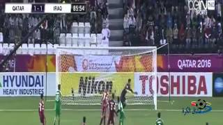 بالفيديو- العراق تتأهل للأولمبياد بعد انتزاعها للمركز الثالث ببطولة كأس آسيا