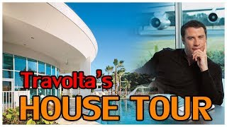 John Travolta's Million Dollars Florida Home Tour