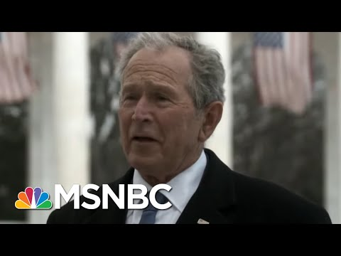 Clinton, Bush, Obama Come Together To Discuss The Importance Of A Peaceful Transfer Of Power | MSNBC