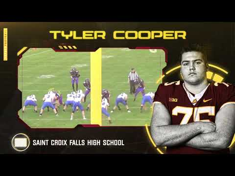 Gopher - Right out under the nose of the Badgers, Gophers land praised OL