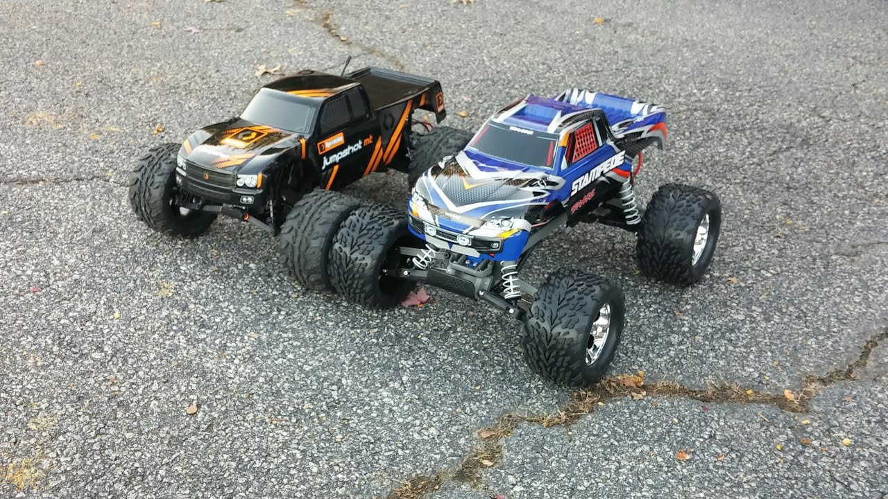 HPI Jumpshot vs Traxxas Stampede