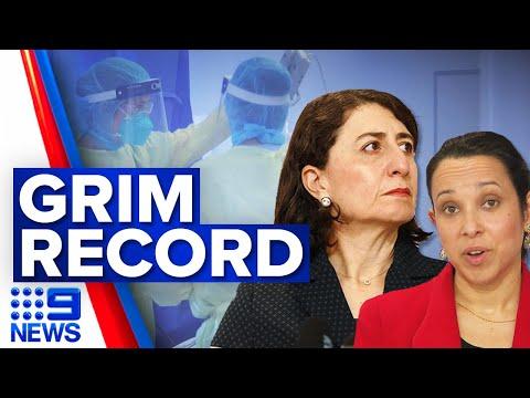 NSW records worst day of pandemic   Coronavirus   9 News Australia
