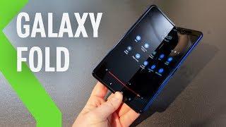 Samsung Galaxy Fold, primeras impresiones: ASÍ ES EL PLEGABLE DE SAMSUNG