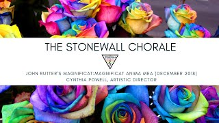 The Stonewall Chorale's Performance of John Rutter's Magnificat (Mvt. 1: Magnificat anima mea)