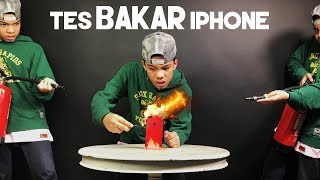 Tes BAKAR iPhone!