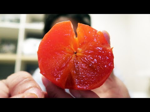 How to Eat a Persimmon: What it Tastes Like