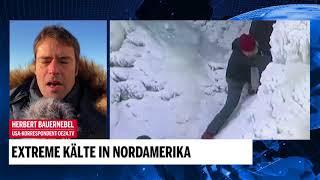 Extreme Kälte in Nordamerika
