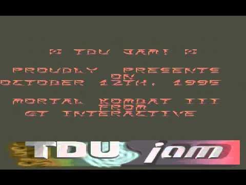 Razor 1911 - TDU Jam Intro #1 (DOS) 1995