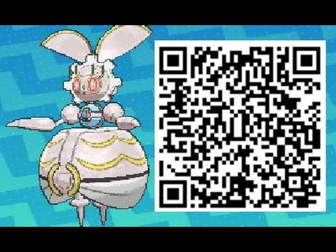 How To Obtain Magearna QR CODE Event – Pokemon Sun and Moon