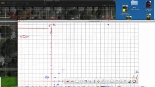 График координаты от времени
