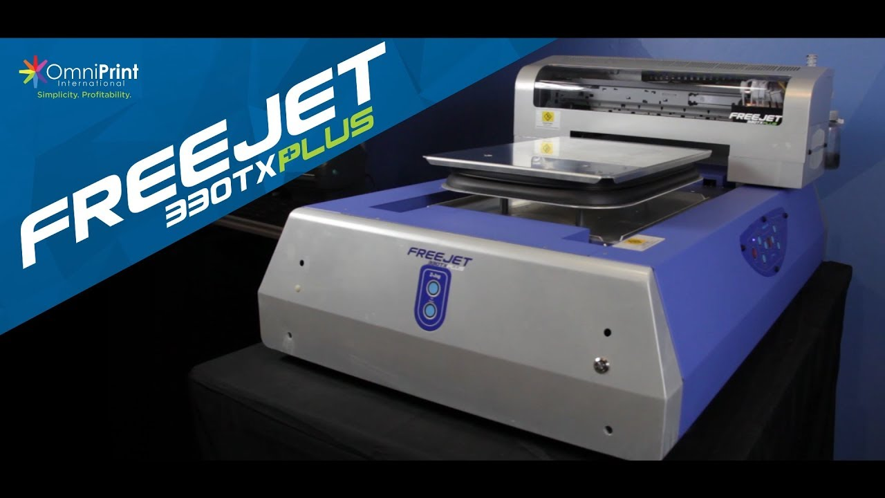 a2e9c3cb DTG Printer of the Year 2018 - FreeJet 330TX Plus | Omniprint International
