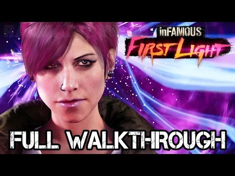 inFAMOUS First Light FULL Walkthrough [1080p] No Commentary TRUE-HD QUALITY