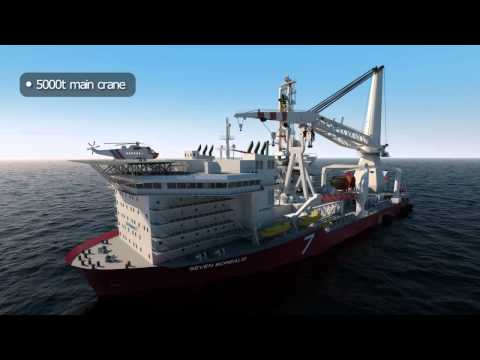 Oil and Gas - 3D Animation - Drillship03