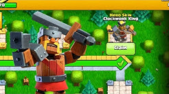 CLOCKWORK KING! | Clash Of Clans