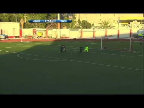 Lincoln Red Imps (Gibraltar) vs Celtic (Scotland) Champion league qualifier 1-0