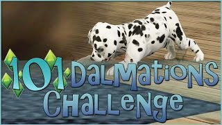 Sims 3 || 101 Dalmatians Challenge: Puppy Chaos & Crowded Spaces - Episode #15
