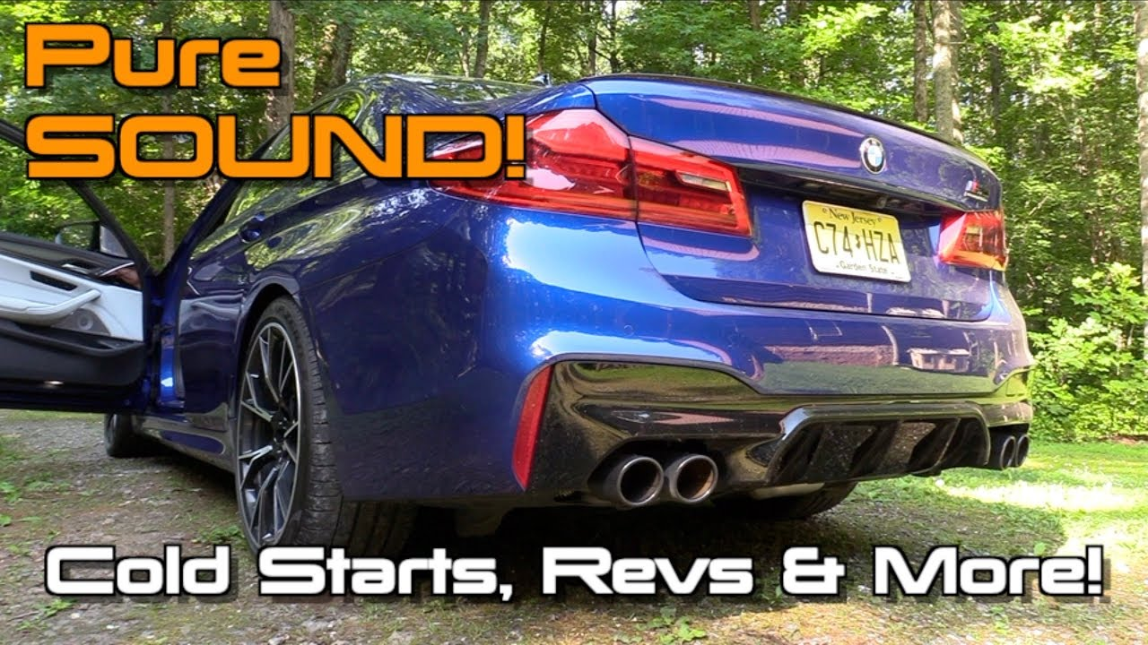 Brutale Klappensteuerung für BMW M5 2021 Competition Sound | Cete Automotive