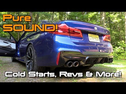 Pure Sound: 2019 BMW M5 Competition (Cold Starts, Revs & More!)