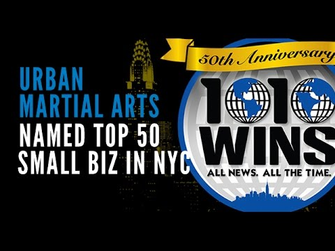 Urban Martial Arts Named as Top 50 Small Biz in NYC by 1010 Wins