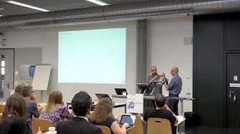 Presentation  Didier Orel und Marcel Blattner