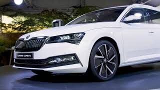 Novi ŠKODA SUPERB in SUPERB iV