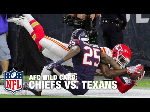 Alex Smith Hits Chris Conley for 9-yard TD | Chiefs vs. Texans | NFL