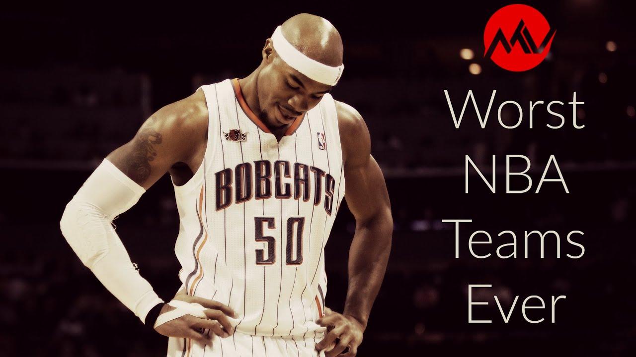 567c7c41cc2 Top 10 Worst NBA Teams Ever - YouTube